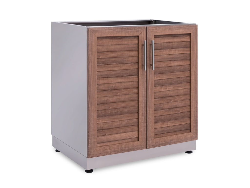 Outdoor Kitchen 2-Door Base Cabinet in Grove
