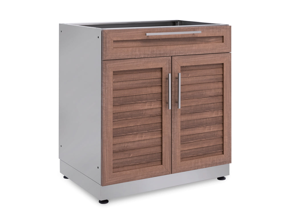 NewAge Products Outdoor Kitchen Bar Cabinet in Stainless ...