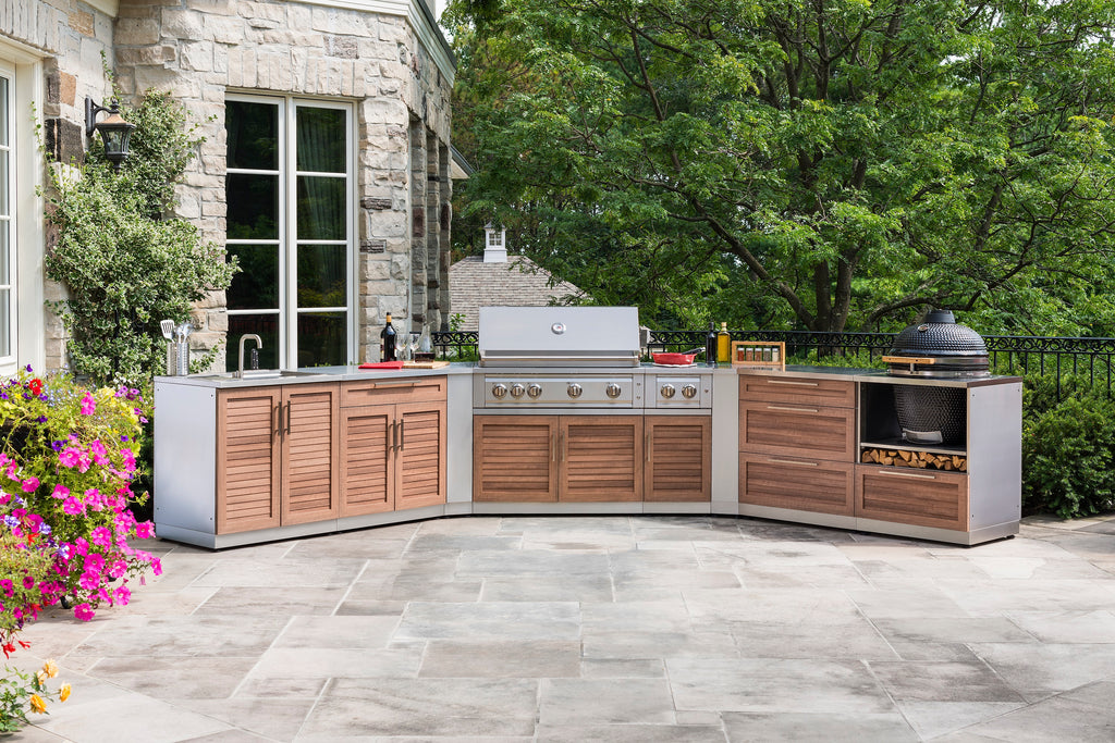 "Grove / Include Countertops / 40"" Grill & Grill Cabinet"
