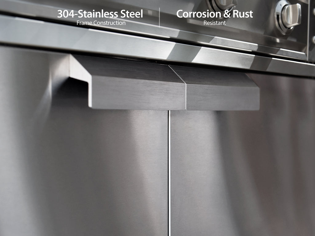 "Stainless Steel / 33"" Insert Grill"
