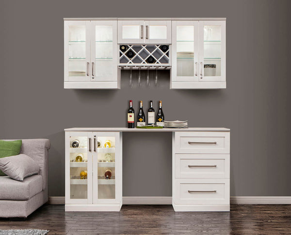 Home Bar 6 PC Shaker Style