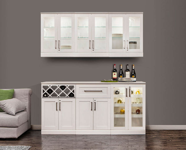 Home Bar 7 PC Shaker Style