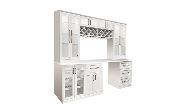 Home Bar 8 PC Shaker Style