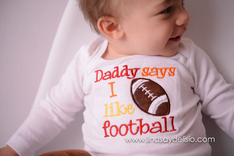 9955a103c818a Baby Football Outfit for Boys Sizes 3 Months to XLT – Bodysuit or T-Shirt  with Football Legwarmers
