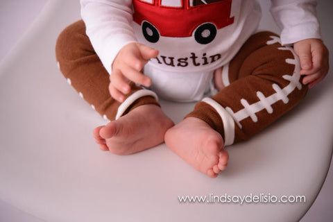 7278e0956dc1f Football Shirts for Kids in Boys Sizes 3 Months to XLT – Bodysuit or  T-Shirt with Football Legwarmers