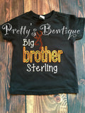 Big brother announcement shirt - Camo big brother t shirt -- big brother shirt -- little brother /sister shirt - Pretty's Bowtique