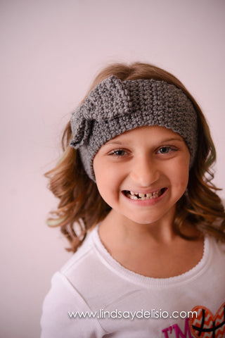 Fall/Winter Headband--Crochet Headband Baby Girl-- Crochet Ear Warmer - Pretty's Bowtique