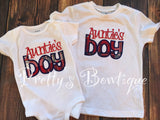 Auntie's Boy  bodysuit or shirt -Boys aunt bodysuit or shirt -- Little boys shirt-- boys aunties shirt - Pretty's Bowtique