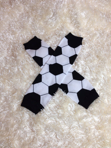 Leg Warmers-Baby leg warmers/Photo Prop unisex Soccer - Pretty's Bowtique