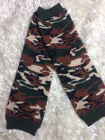 Hunting camo Baby Leg Warmers Baby leg warmers boy or girl /Photo Prop unisex Camo - Pretty's Bowtique