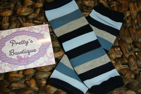 Leg warmers baby boy Leg Warmers-Baby leg warmers/Photo Prop Stripes - Pretty's Bowtique