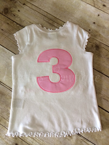 Add Name or Age to back of shirt - Pretty's Bowtique