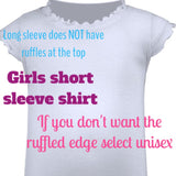 Soccer sister shirt. Little sister can customize saying or colors - Pretty's Bowtique