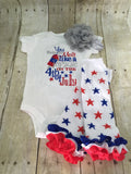 4th of July outfit Fourth of July Outfit Melt like a POPSICLE on the 4th of July outfit 3 piece set - Pretty's Bowtique