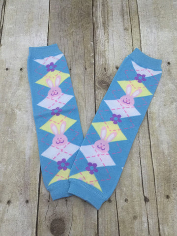 Ready to ship Easter Leg Warmers-Baby leg warmers/Photo Prop - Pretty's Bowtique