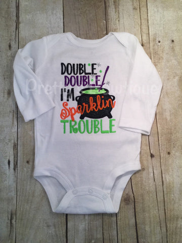 Girls Halloween Shirt or Baby Bodysuit Sizes Newborn to Youth 14 - Pretty's Bowtique