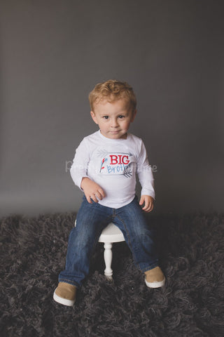 Boys Big Brother shirt- Big brother announcement shirt or bodysuit -Can customize and personalize - Pretty's Bowtique