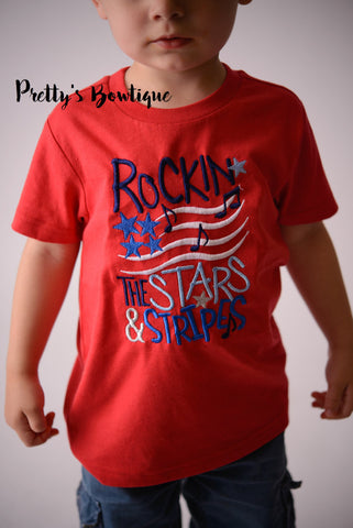 Boys 4th of July Shirt, Boys summer tee, Baby boys 4th of july shirt - Fireworks shirt for boy, 4th of july t-shirt - Pretty's Bowtique