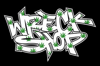 Wreck Shop & Cannabis Leaf T