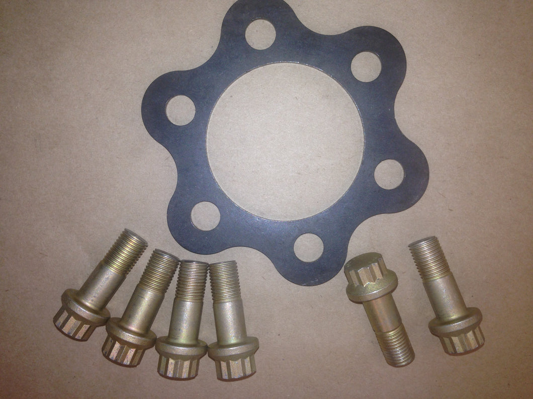 Pulley Flange Washer And Bolt Kit