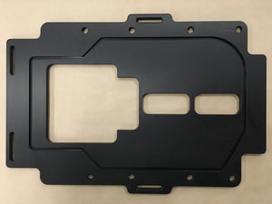 "Blower To Manifold Restraint Plate (1/2"")"