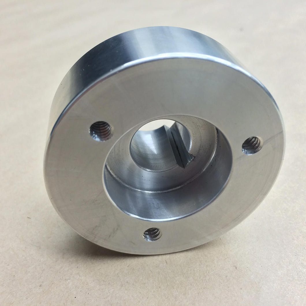 Steering Hub, Billet-3/4 Taper-3 Bolt