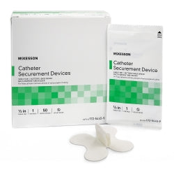 Catheter Securement Device McKesson NonSterile, 2.5 Inch Tab