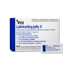 Lubricating Jelly PDI® 2.7 Gram Individual Packet Sterile (case)