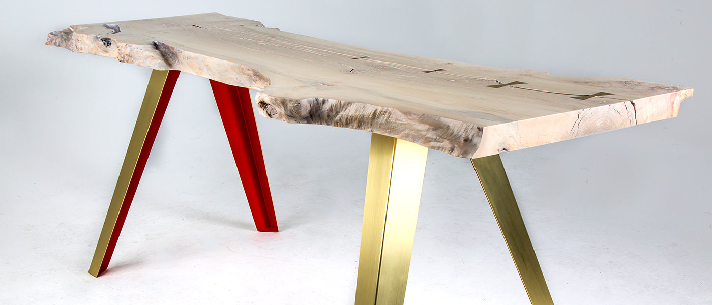 RED SOL Maple Table