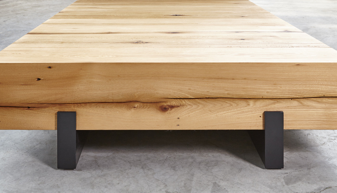 Solid Beam floating Table