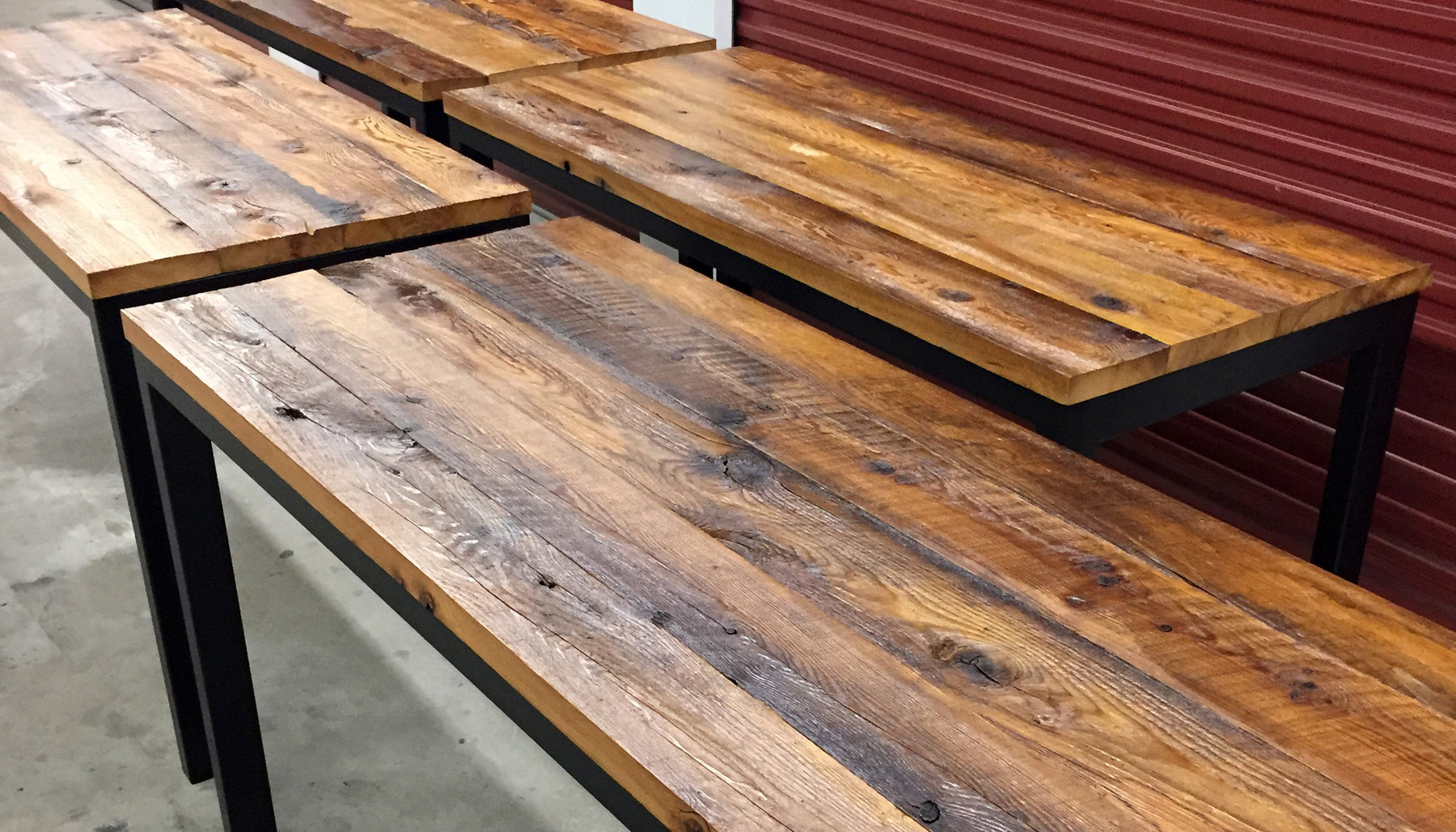 Reclaimed Hemlock Tables