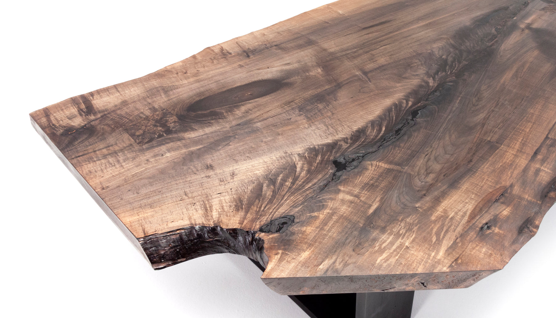 Charred Coffee Table