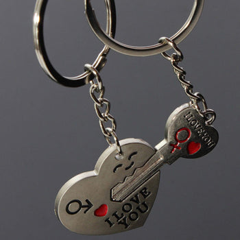 Valentine's Day Couple Love Keychains