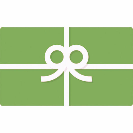 Gift Card - Give the gift of green. Easy Peasy. (Different increments available.)