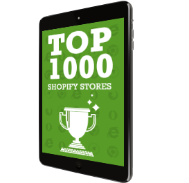 Top 1000 Shopify Stores
