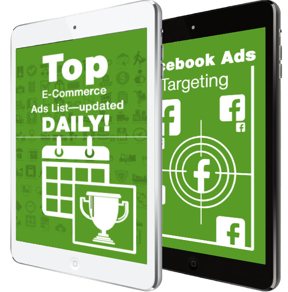 Top E-Com Ads List Updated Weekly