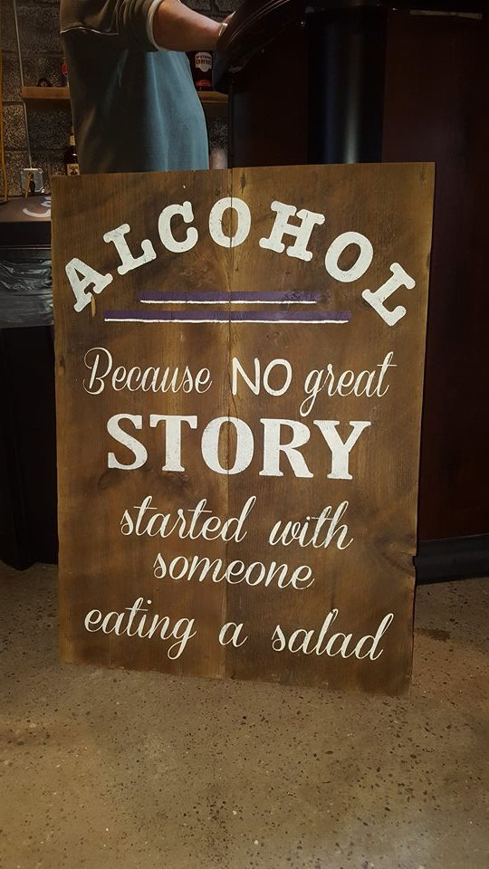 RENT - Alcohol Because No Great Story Started with Someone Eating a Salad
