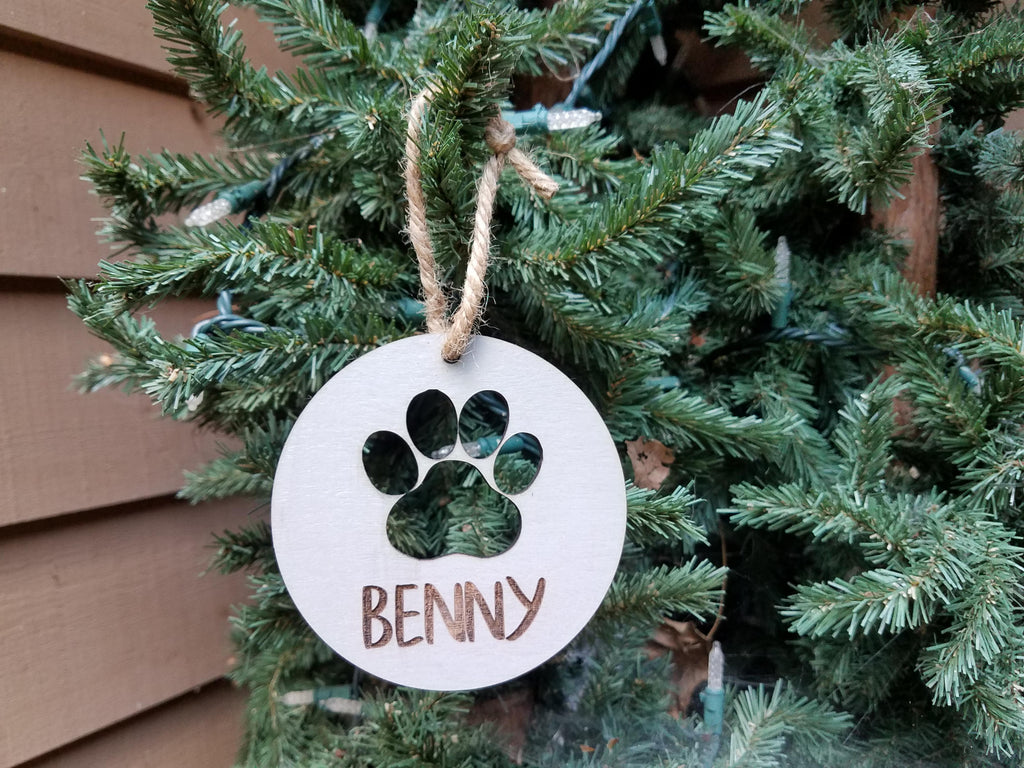 Farmhouse Christmas Ornament | Personalized Pet Christmas Ornament