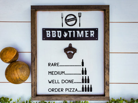 Funny Father's Day Gift | Bottle Opener Sign | Funny Beer Sign