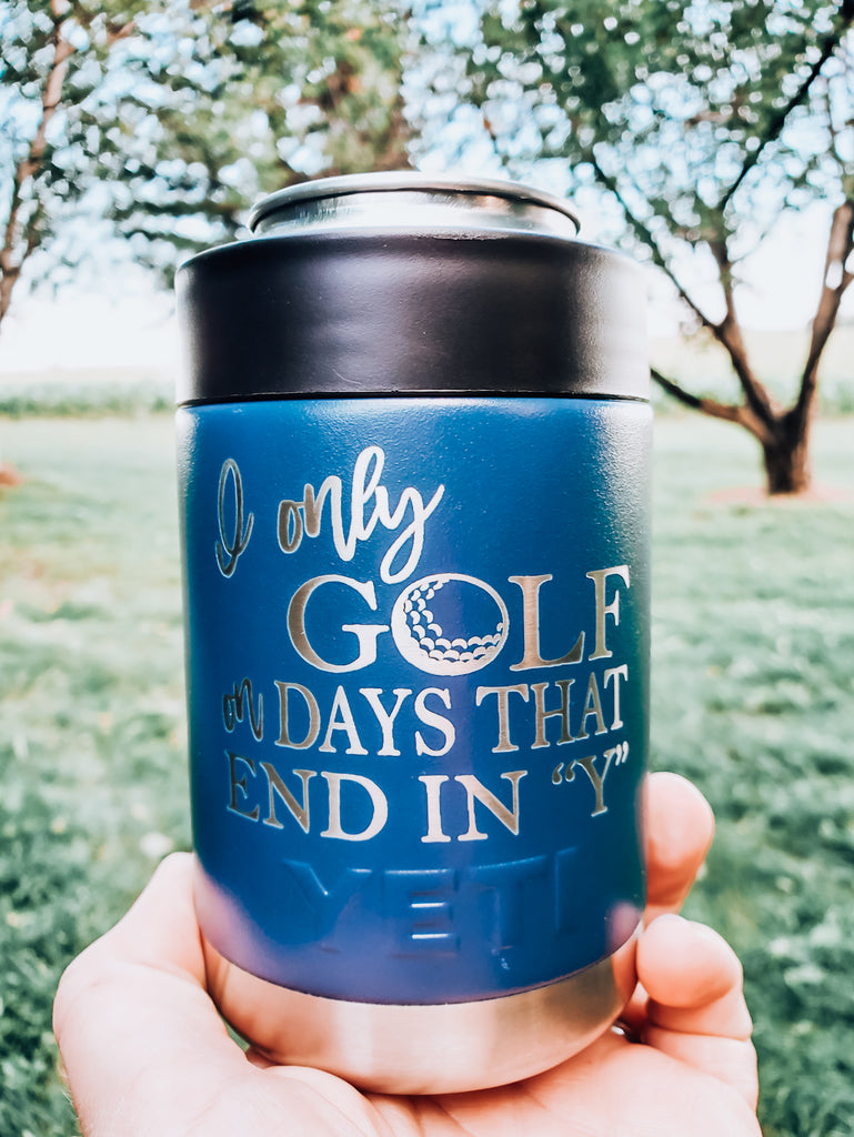 I Golf Only on Days That End in Y Yeti Mug