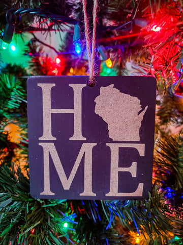Wisconsin Christmas Ornament | Home Ornament