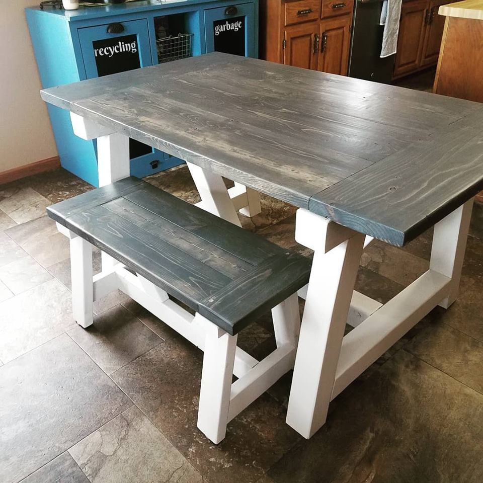 Custom Built Farmhouse Table