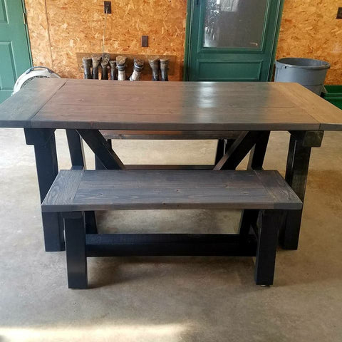 Custom Built Farmhouse Bench