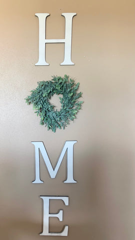 "12"" Tall Wood Cutout Letters"