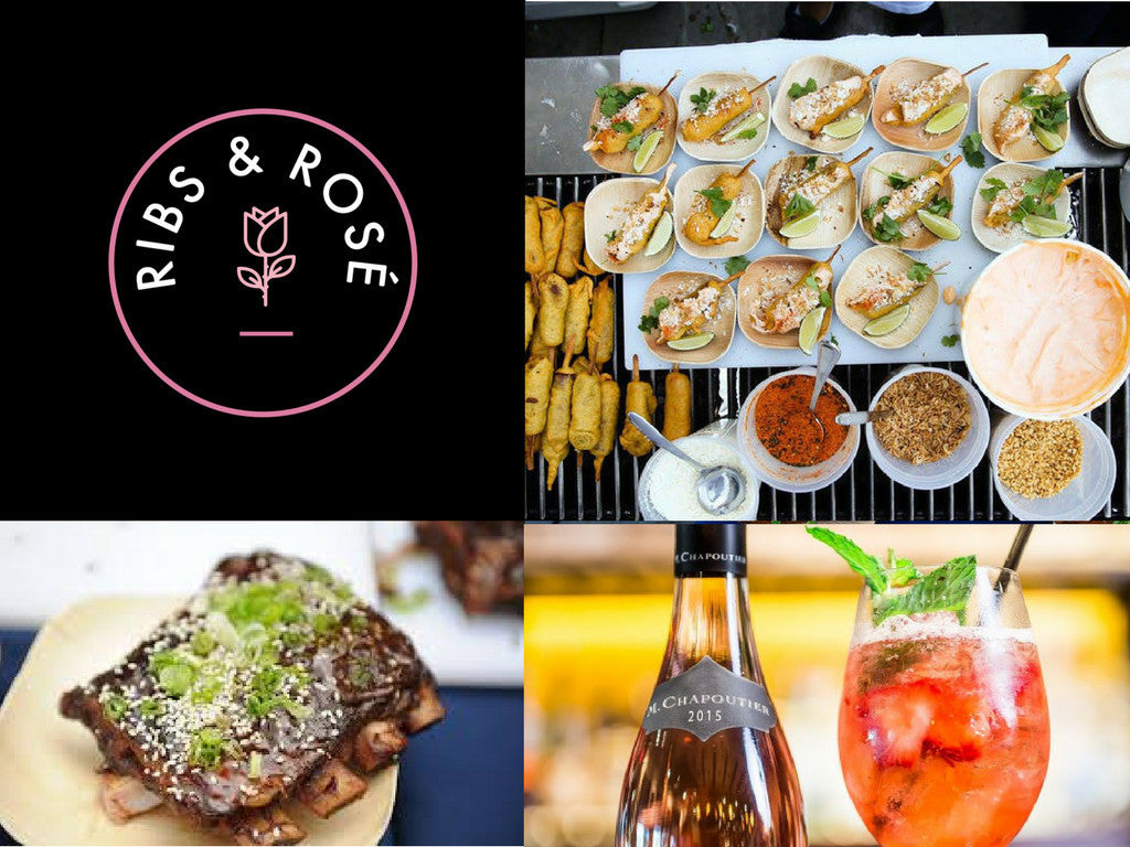 CHEF INSPIRED BBQ, AMAZING DJ's, & ROSÉ ALL DAY