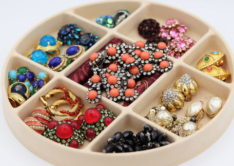 costume jewelry vintage collection
