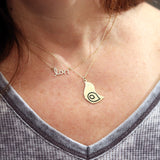 Bye Bye Birdie Pendant Necklace in Sterling Silver or 14k Gold