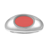 Simple Enamel Signet Ring in Sterling Silver