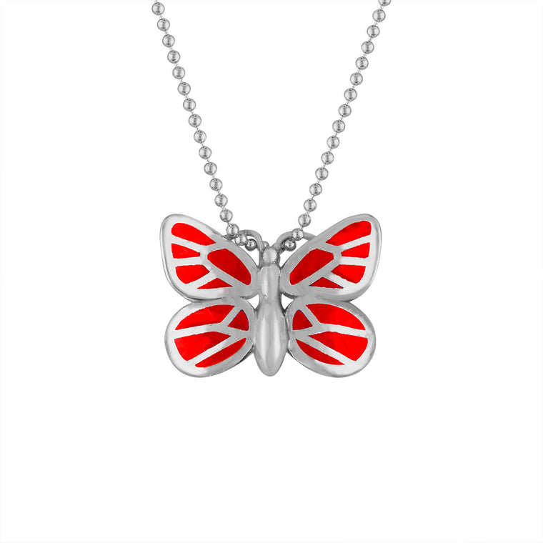 Mini Butterfly Pendant on Ball Chain