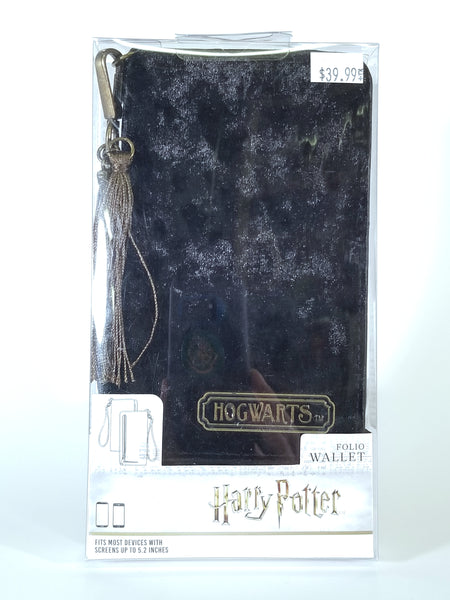 HARRY POTTER - BIOWORLD HOGWARTS VELVET FOLIO WALLET